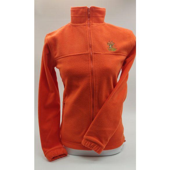 Fleece mikina dámsky (oranžová)