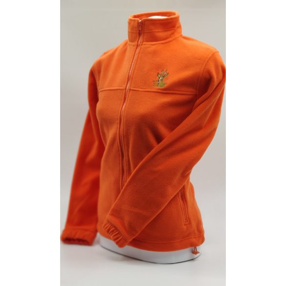 Jachetă fleece pentru damă (portocaliu)