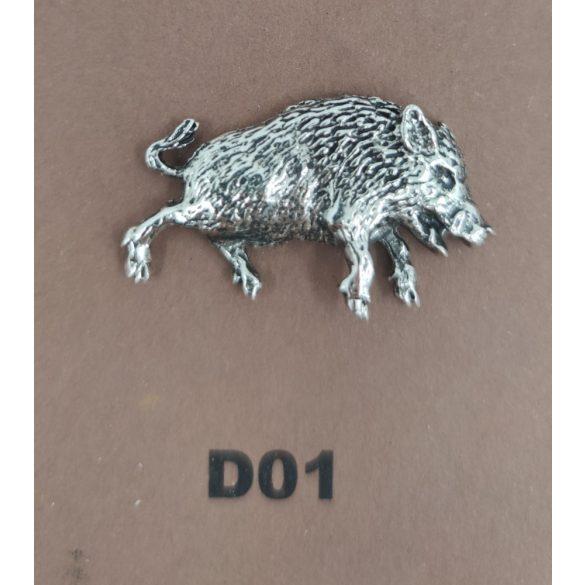 Kalapkitűző D01