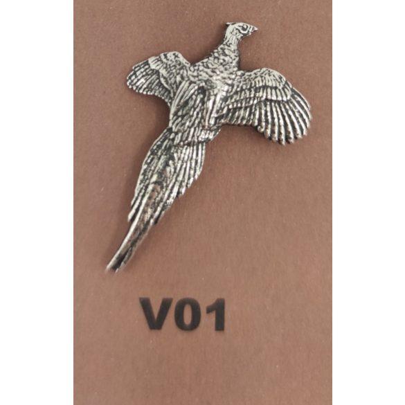 Kalapkitűző V01