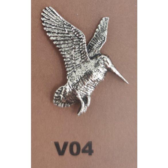 Brosche zum Hut V04